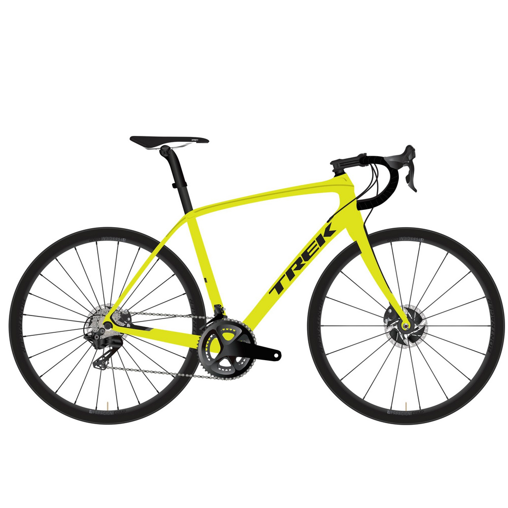 Trek Domane SLR 9 Disc - Yellow