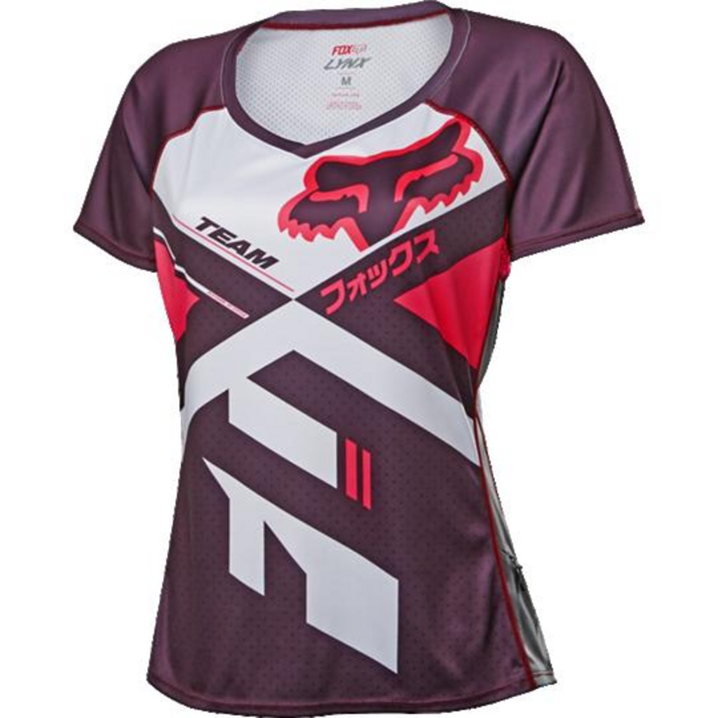 6b9ade273 You re viewing  Fox Womens Lynx SS Jersey  Plm  Large £40.00