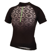 Altura Women'S Baroque Short Sleeve Jersey - Black