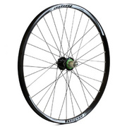 24 x 1.75 alloy for multi freewheel 135 mm silver rear wheel