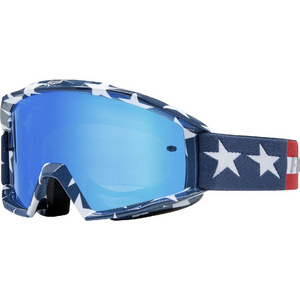Main Goggle - Stripe [Wht/Rd/Blu]