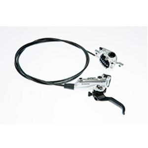 BR-M785 XT bled I-spec-B compatible brake lever and calliper, rear, silver