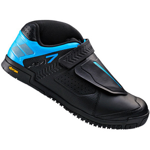 AM7 flat sole shoes, black / blue