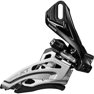Deore XT M8025-D double front derailleur, direct mount, down swing, top-pull