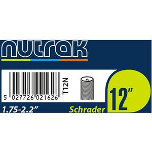 12 x 1.75 - 2.125 inch Schrader inner tube