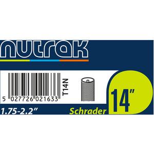14 x 1.75 - 2.125 inch Schrader inner tube