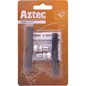 V-type one-piece brake blocks