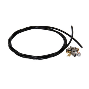 5mm Black Hose INC. 90 & Straight Connectors