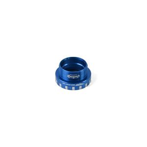 24mm Bottom Bracket Non-Drive Side Cups - Blue