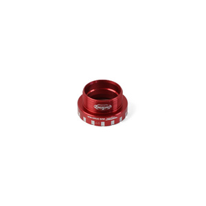 24mm Bottom Bracket Non-Drive Side Cups - Red