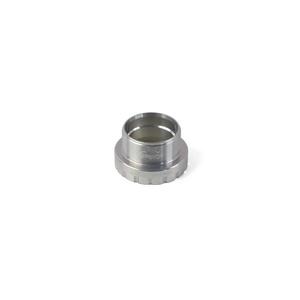 24mm Bottom Bracket Drive Side Cups - Silver