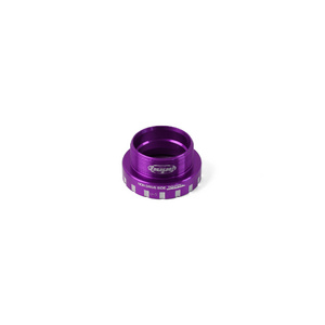 24mm Bottom Bracket Non-Drive Side Cups - Purple