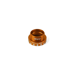 24mm Bottom Bracket Non-Drive Side Cups - Orange