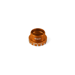 24mm Bottom Bracket Drive Side Cups - Orange