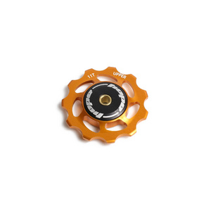 Individual Jockey Wheels - Orange