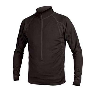Endura BaaBaa Merino Zip Neck: