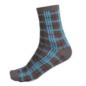 Endura Plaid Sock (Twin Pack):