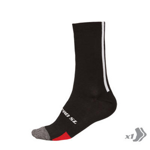 Endura Pro SL Winter Sock: Black
