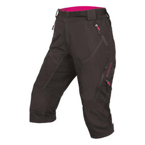 Endura Endura Women's Hummvee 3/4 II with liner: Black - S