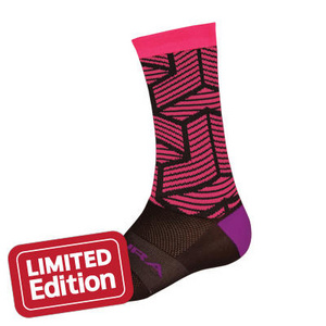 Endura Wms Triweave Graphics Sock: