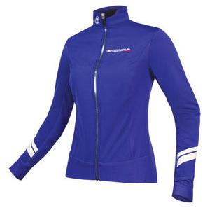Endura Endura Wms Pro SL Thermal Windproof Jacket: CobaltBlue - L