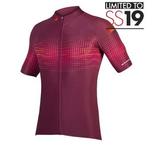 Endura Endura PT Wave S/S Jersey LTD: Mulberry - XXL