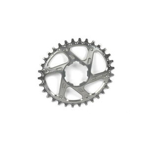 Hope Oval Spiderless Retainer Ring - Silver
