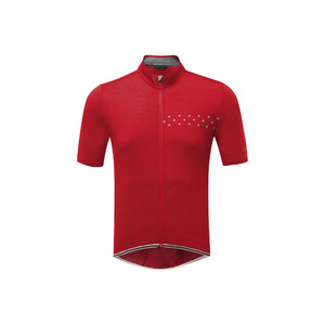 Mens Cycle KoM Jersey, Red, Large