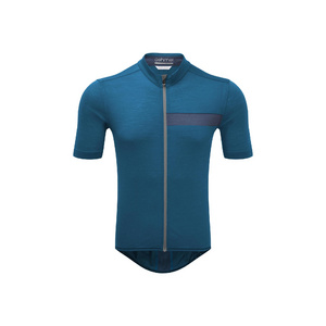 Mens Cycle Short Sleeve Classic Jersey, Teal, Large