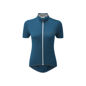 Womens Cycle Croix De Fer Jersey, Teal, Medium