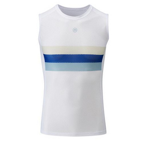 Chapeau! Mens Mesh SL Base Layer Striped  Exe Blue
