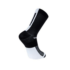 Chapeau! Lightweight Performance Socks The Marque Tall Black/White 44-47