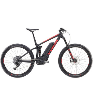 "TREK POWERFULLY 9 LT PLUS 19.5"" Matte Trek Black/Viper Red"