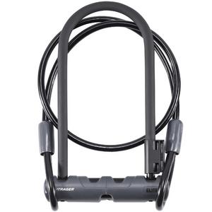 Bontrager Elite Keyed U-Lock with Cable
