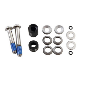 Avid Post Spacer Set - 20 S (Front 180/Rear 160), Inc. Stainless Caliper Mounting Bolts (CPS & Standard)