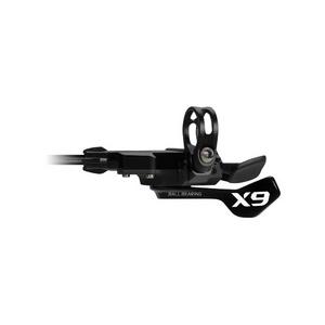 SRAM X9 Shifter - Trigger - Bearing - 3 Speed Front - ZeroLoss - Grey