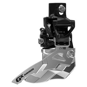 SRAM Front Derailleur GX 2x10 High Clamp 38/36t Top Pull