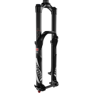 "Rock Shox - Yari RC - 29"" 15x100 Solo Air 160mm - Diffusion Black - Crown Adj Alum Str - Tapered - 51 offset - Disc (includes service kit & shock pump) - MY16"