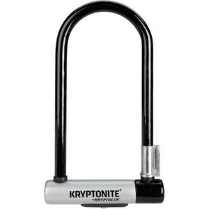 KryptoLok Standard U-lock with with FlexFrame bracket