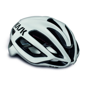 Kask Protone White/Lime (Bianco/Lime) Small