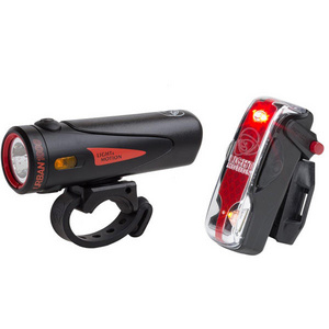 Urban 1000 Black / Black + Vis 180 Pro light twinpack