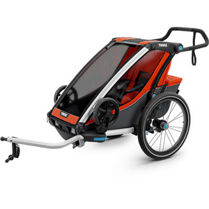 Chariot Cross 1 U.K. certified child carrier with cycling and strolling kit