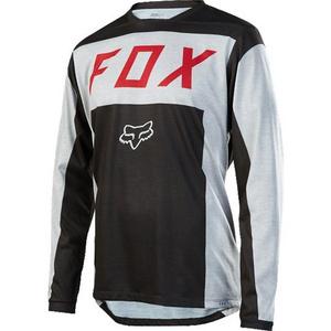 Fox Men's Indcator LS Moth Jersey [LT GRY] XL