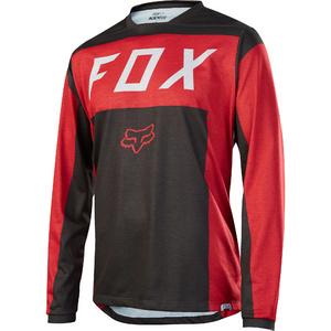 Fox Men's Indicator LS Moth Jersey XL [RD/BLK]