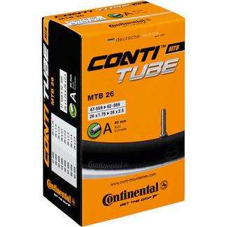 MTB 26 X 1.75 - 2.5 inch Schrader inner tube