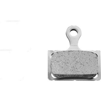 K02S disc brake pads, steel backed, resin
