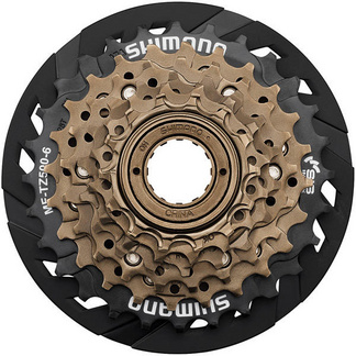 MF-TZ500 6-speed multiple freewheel, 14-28 tooth