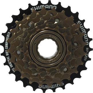 MF-TZ20 6-speed multiple freewheel, 14-28 T