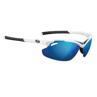 Tifosi Tyrant 2.0 White/Black Clarion Blue Lens Sunglasses