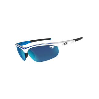 Tifosi Veloce Race Blue Interchangeable Clarion Blue Lens Sunglasses